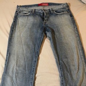 Guess women's jeans size 30 stretch bootcut!